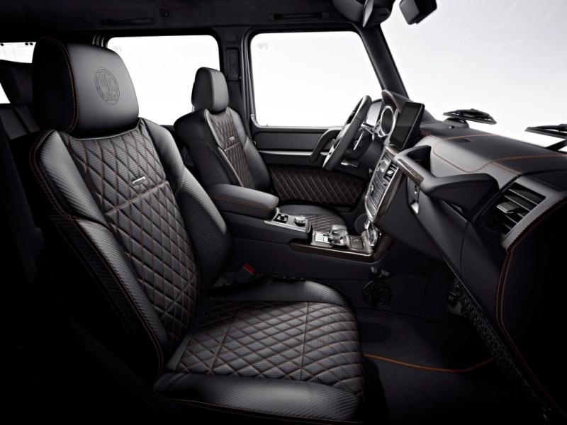 Habitáculo del Mercedes-AMG G65 Final Edition