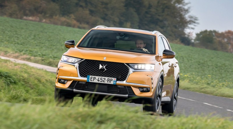 Vista exterior DS 7 Crossback