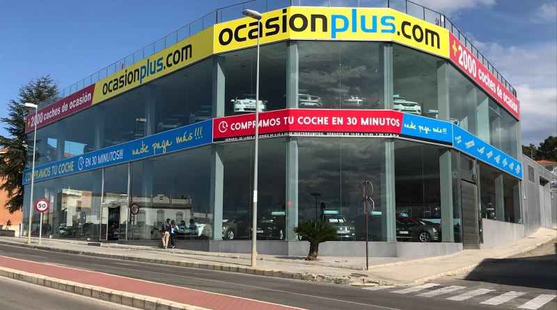 Exteriores del nuevo centro de Alzira