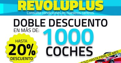 Llega la Revoluplus, con doble descuento de hasta el 20%
