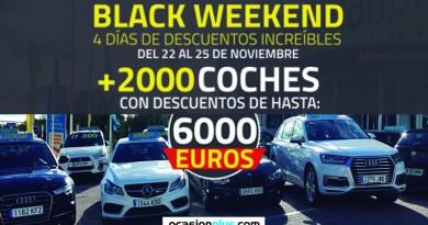 El Black Weekend de Ocasionplus, solo hasta el 25 de noviembre