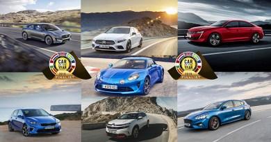 Estos son los 7 finalistas a coche del año en Europa 2019