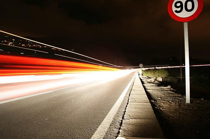 La DGT bajaré el límite de velocidad a 90 km/h en 7.000 kilómetros de vías secundarias
