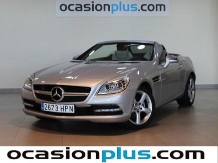 Mercedes Clase SLK con descuento en la liquidación total de fin de año de OcasionPlus