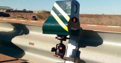 Aquí se colocarán los radares móviles durante el Puente de la Constitución