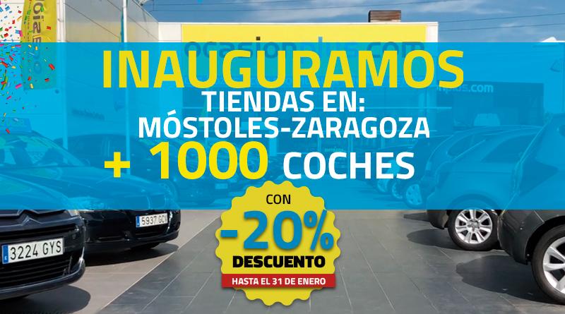 Inauguramos nuevo centro en Móstoles y para celebrarlo tenemos más de 1000 coches de segunda mano con descuento