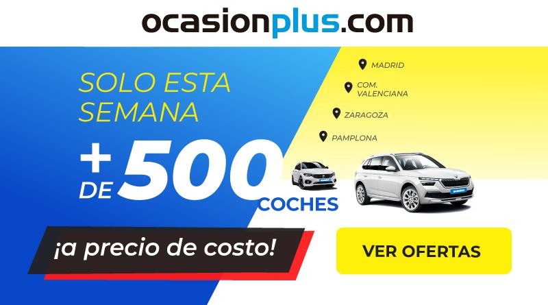 Más de 500 coches de ocasión a precio de coste