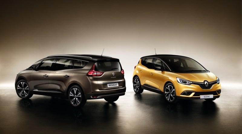 El Renault Gran Scenic está entre los 7 mejores coches de 7 plazas para familias numerosas