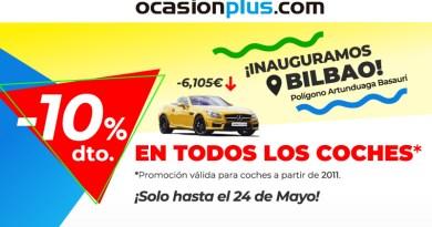 OcasionPlus Bilbao abre sus puertas en el Polígono Industrial Artunduaga, en Basauri