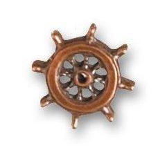 Rueda de timón diámetro 14 mm ( 2 uds ). Marca Artesanía Latina. Ref: 8712.