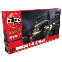 Airfix - Avión Douglas Dakota C47 A/D Skytrain. kit de plástico listo para ensamblar y decorar. Escala 1:72. Ref: A08014.