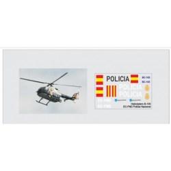 Trenmilitaria - Calcas del helicóptero BO-105, Policia Nacional. Escala 1:35, Ref: 000_4484