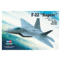 "Hobby boss - F-22A ""Raptor"". Escala 1:72, Ref: 80210"