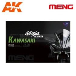 Meng-Kawasaki Ninja H2R (Pre-colored Edition). Escala 1:9. Ref: MT-001S.