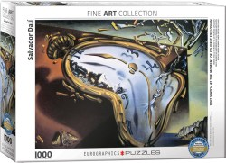 Eurographics - Soft Watch at moment of first explosion por Salvador Dalí. Puzzle horizontal, 1000 pz. Ref: 6000-0842.