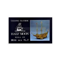Corel - Galeón Half Moon 1609 - XVIIth C. Escala 1:50. Ref: SM18.