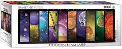 Solar System Details. Puzzle paronámico, 1000 pz. Marca Eurographics. Ref: 6010-0308.