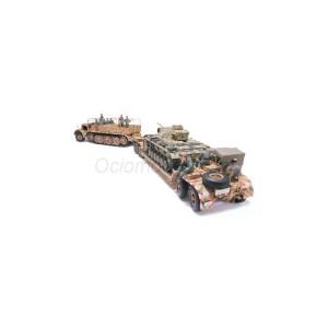 German 18 Ton Heavy Half-Track Famo and Tank Transporter Sd.Ah.116. Escala 1:35. Marca Tamiya. Ref: 35246.