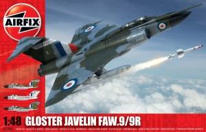 Gloster Javelin. Escala 1:48. Marca Airfix. Ref: A12007.