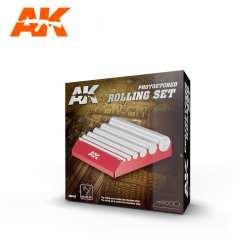 Photoetched Rolling set, Herramienta dar forma Fotograbados. Marca AK Interactive. Ref: AK9163.