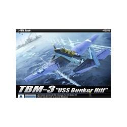 TBM-3 [USS Bunker Hill]. Escala 1:48. Marca Academy. Ref: 12285.