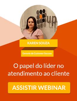 Webinar UpLexis -Papel do líder no atendimento ao cliente