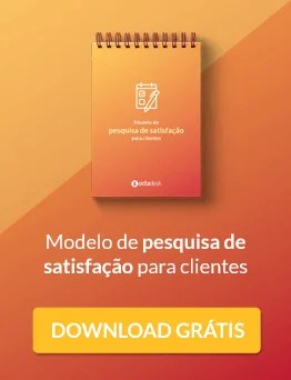 Modelo de pesquisa de satisfação de clientes