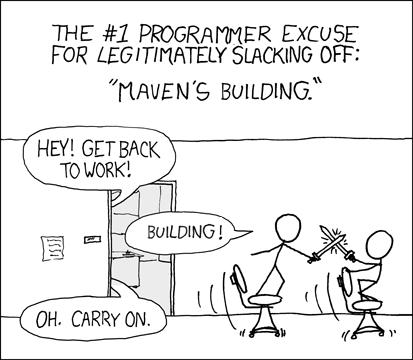 maven is building