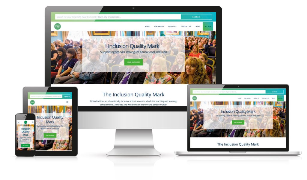 IQM website by Octoberstone