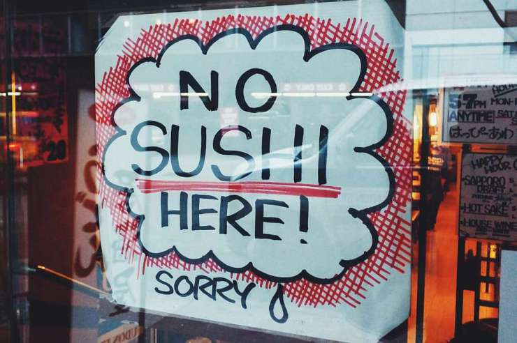 No sushi in abuja (credit: nicholas baum)