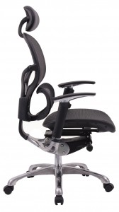 A cool looking mesh office chair