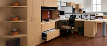 disassemble large office furniture