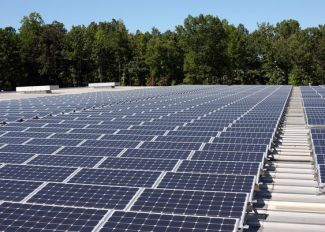 Install solar panels similar to OFM, Inc's headquarters in North Carolina.