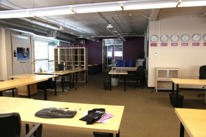 Open office design options