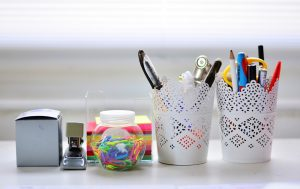 A few examples of neccessary office supplies every desk should contain