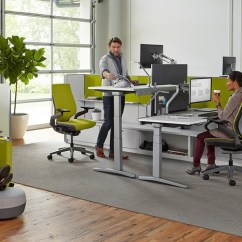 Office Chair Exercises Comfy Kids How To Encourage Exercise In The Designs Blog Steelcase Design On Budget