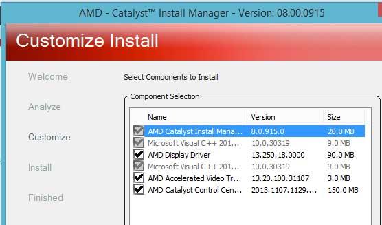 AMD Catalyst Center indir - AMD Radeon Ekran Kart Driver