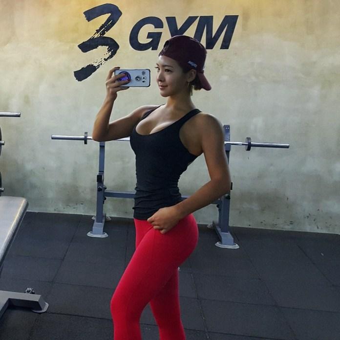 Korean-model-fitness-Haena-Kim-www.ohfree.net-016 Korean model, fitness Haena Kim 김해나 핏해나 nude photos leaked
