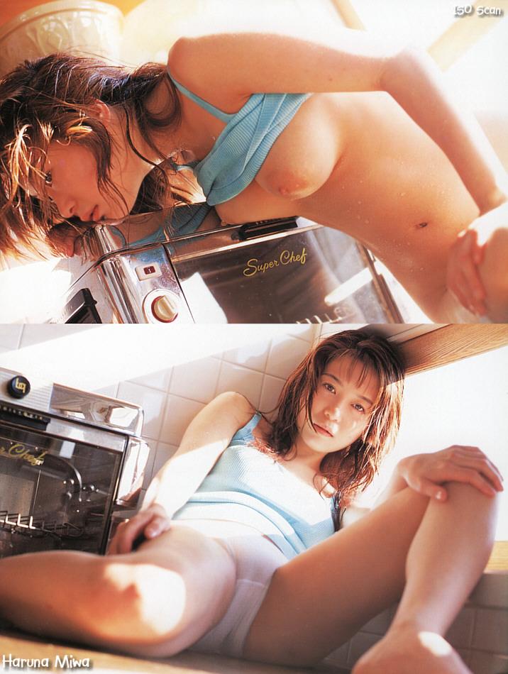 Japanese-AV-idol-Haruna-Miwa-021-by-ohfree.net_ Japanese AV idol, gravure idol Haruna Miwa nude sexy photos leaked