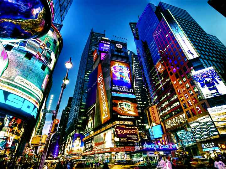 Times Square New York City - New York Songs