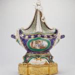 """Image of """"Sèvres porcelain factory, Pot-pourri à vaisseau"""""""