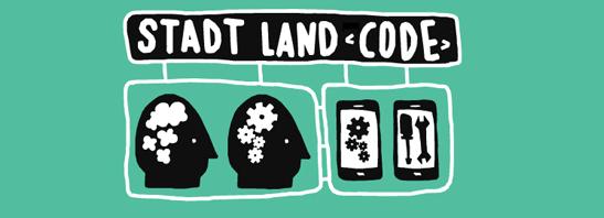 Stadt Land Code Banner