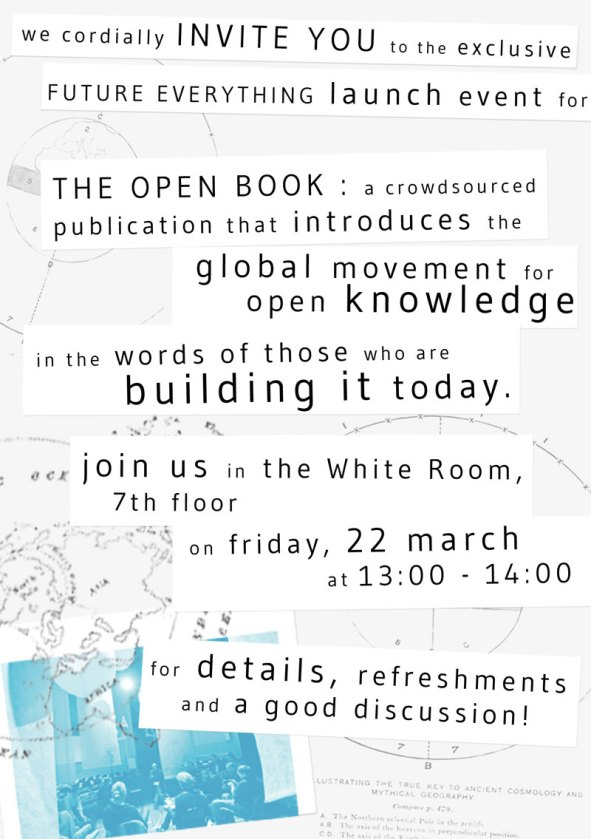 Open Book at Future Everything 2013