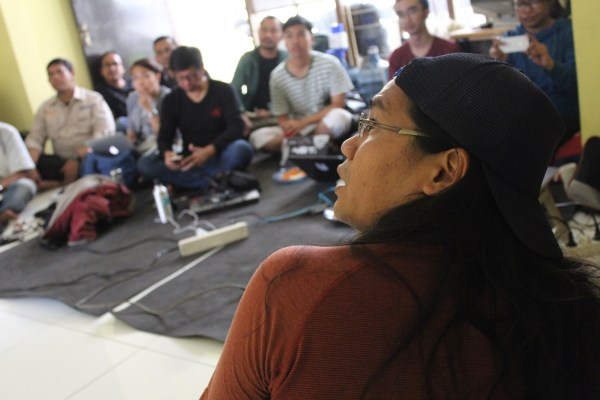 Adi Marsiela, a journalist with the Alliance of Independent Journalists (AJI) in Bandung