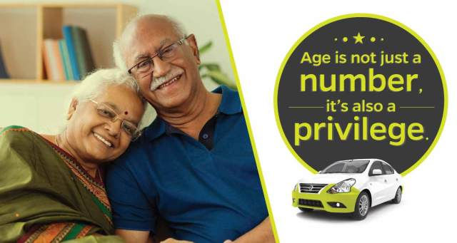 Ola discount offer for Senior citizens in PUNE