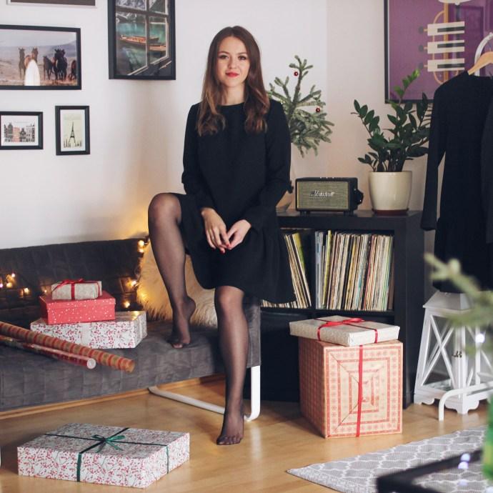 Sukienka na Święta - Olga POKRYWKA - sukienka Brigitte