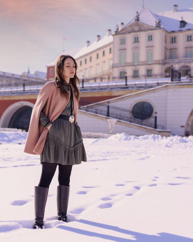 Zamek Królewski w Warszawie, Olga POKRYWKA - projektantka mody