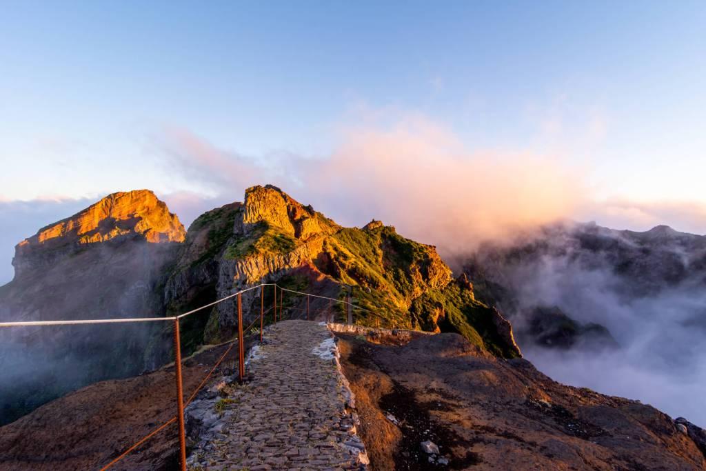 Pico Ruivo, Madeira, Portugal.