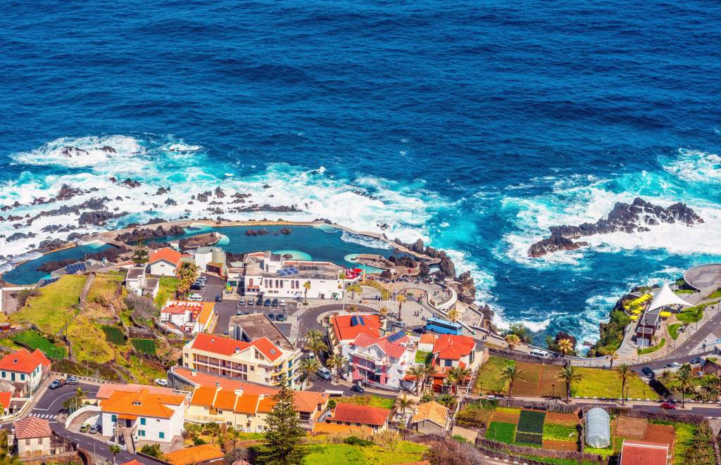 Porto Moniz, Madeira, Portugal.