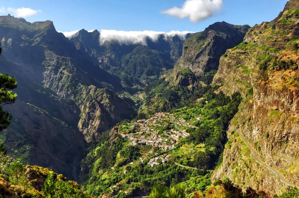 Curral das Freitas, Madeira, Portugal.